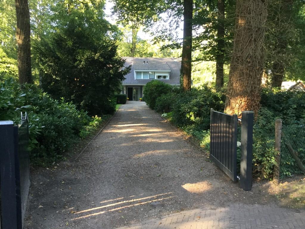 Landschappelijke tuin in de bossen bij Epse 2017