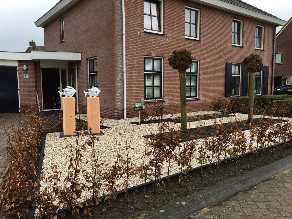 Tuin in de wijk Oosterwijkse Vloed in Hengelo (gld) 'Vissen' 2020